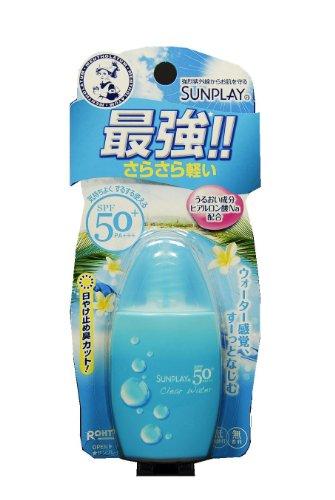 Rohto SUNPLAY | Sunscreen Lotion | Clear Water Milk Lotion SPF50+ PA+++ 30g(27ml) (japan import)