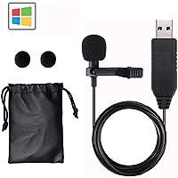 GeekerChip USB Microfono,Mini Microfono a Condensatore Omnidirezionale Compatibile con PC, Laptop, Mac, MacBook,Ideale per Youtuber/Intervista/Conferenza Video/Podcas