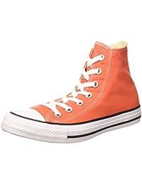 Converse Sneaker all Star Hi Canvas, Sneakers Unisex Adulto, Arancione (Van on Fire), 36.5 EU