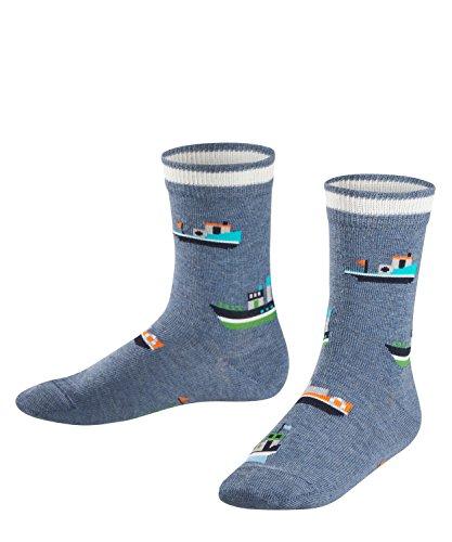 FALKE Boats & Ships Kinder Socken light denim (6660) 31-34 aus hautfreundlicher Baumwolle