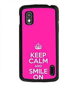ifasho Designer Phone Back Case Cover LG Google Nexus 4 E960 ( Save Water Drink Beer )