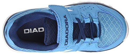 Diadora Unisex-Kinder Hawk 7 Jr Laufschuhe Blau (Blu Fluo/bianco) cqQ4upPUI