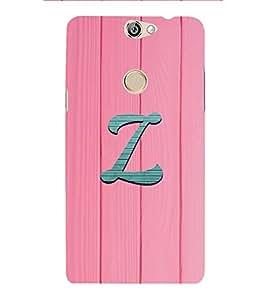YuBingo Coolpad Max Designer Phone Back Case Cover ( Zippy Letter Z (Girly Girlie Wood Finish Printed on Plastic) )