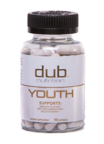Immun Booster durch Dub Ernährung | ANTI-AGING Jugendformel! | Multi-Vitamin, Immunsystem Unterstützung ergänzt, Resveratrol, COQ10, Kurkuma Curcumin, Vitamin D3, Traubenkernextrakt, Alpha-Liponsäure