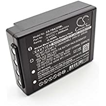 vhbw Batería NiMH 2000mAh (6V) para Mando a Distancia/Control Remoto gruas reemplaza