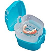 TAOtTAO Zahnprothesen Behälter Becher Box mit Sieb Denture Box Denture Cup