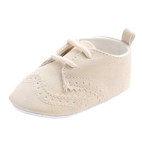 Cáqui 0 Únicos Sapatos Hunpta Macio ~ 6 Flats Sapatos idade De Bandagem Única Cáqui Bebê Meses TZqAwA