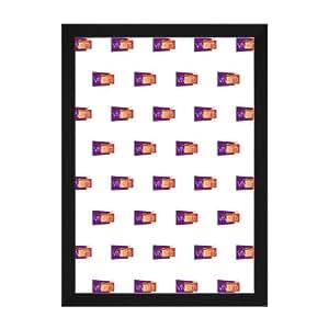 cadre photo couleur noir mat 40 x 50 cm cuisine maison. Black Bedroom Furniture Sets. Home Design Ideas