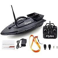 vige Flytec 2011-5 Herramienta de Pesca Smart RC Bait Boat Juguete Motor Dual Buscador de Peces Fish Boat Control Remoto Barco de Pesca Barco Barco - Negro