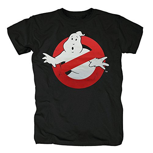 Serie Kostüm Flash Tv (TSP Ghostbusters Distressed Logo T-Shirt Herren XXXL)