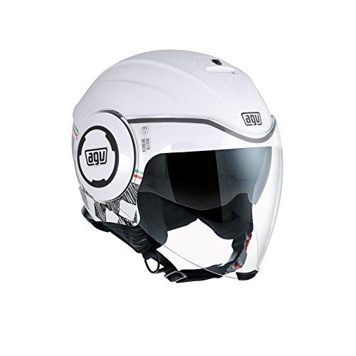 AGV Motorradhelm Fluid E2205 Multi, Garda Weiß/Italy, Größe L