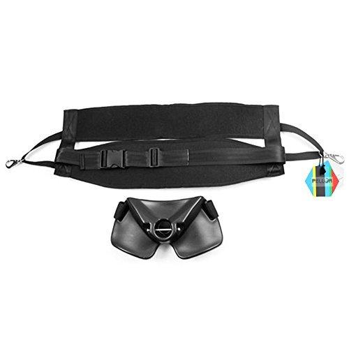 Pellor Angelrute Halterung Adjustable Angelkampf Gürtel Kampfbauchband Set Kit für Bootsangeln Meeresangeln