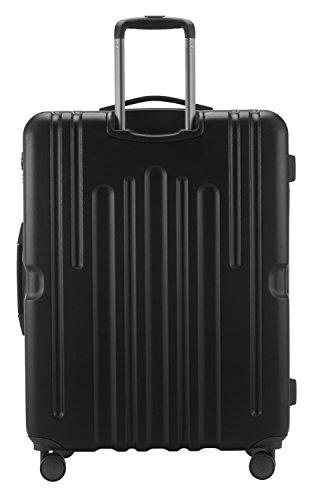 HAUPTSTADTKOFFER - Havel - Hartschalen-Koffer Koffer Trolley Rollkoffer Reisekoffer, TSA, 73 cm, 111 Liter, Schwarz - 5