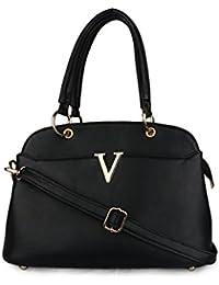 Deniza Black Color Shoulder & Sling Bags