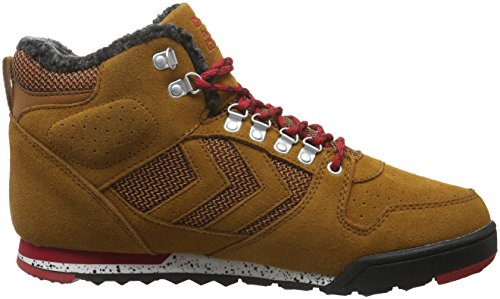 Hummel Nordic Roots Forest Smu, Sneakers Hautes Homme Marron (Glazed Ginger)