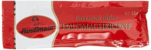 Händlmaier's Hausmachersenf süß Portionsbeutel, 200er Pack (200 x 15 ml)