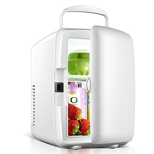 KY Mini Nevera Mini refrigerador Mini -4L Refrigerador Mini de Doble Uso...