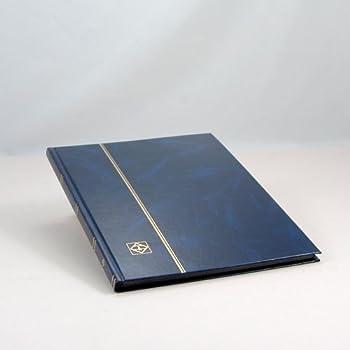 16/pages noires couvercle non rembourr/é Leuchtturm 335982/Clasificador DIN A4 Bleu