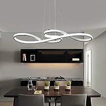 Lampada a sospensione Simboli musicali Design LED Lampadario Bianco/Lampada  a sospensione in acrilico e
