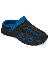 Aqua velocidad - deslizadores de señoras/zapatos sandalias de playa de Bali (rosa/azul claro, 36)