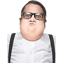 Semi máscara cara gorda