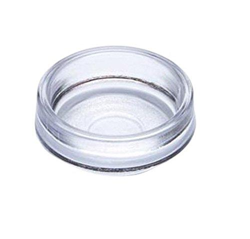 Bulk Hardware bh05118Castor Cup Klar Klein Außen Dimension 50mm, Set 4Stück