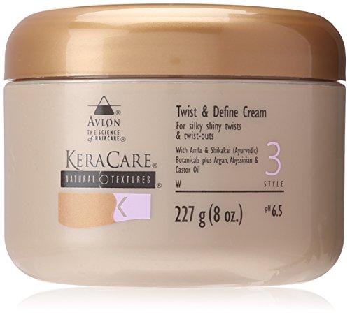 Avlon KeraCare Textures naturelles Twist & Définir la crème, style 3, 227 g/8 G