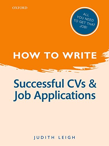 How to Write: Successful Cvs And Job Applications Jobs Schreiben