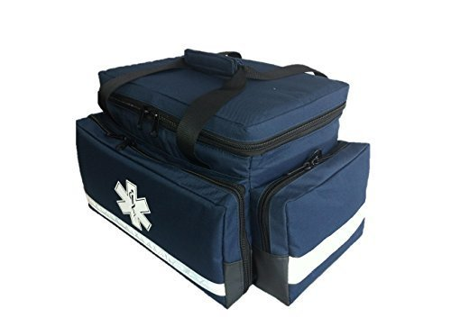 groß gepolstert Advanced Trauma Tasche blau Dual-front-tasche