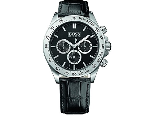 Hugo Boss Black Ikon Mens Chronograph Watch 1513178