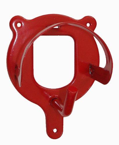 Trensenhalter, Metall, rot