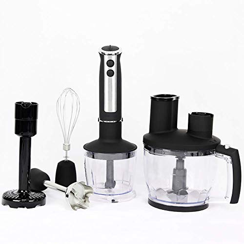 Powerful Premium Blender - Hand Blender Stick,Whisk and Food Processor, Mini Chopper, Blending Beaker, Stainless Steel, BPA Free (Und Blender Chopper)