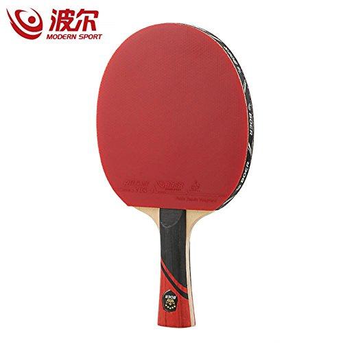 3 Sterne Tischtennisschläger Doppelseitige Inverted Rubber Ping Pong Bat