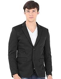 Sting Dark Grey Solid Casual Blazer