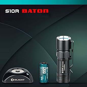 Olight S10R Baton CREE XM- L2 4Modes rechargeable EDC lampe de poche LED