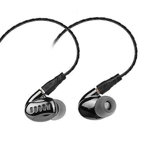 In Ohr Isolieren Kopfhörer mit Mikrofon, yinyoo 3,5mm Wired Stereo-In-Ear Kopfhörer Rauschunterdrückung Kopfhörer Balance Armature mit dynamischen in-Ear-Kopfhörer für iPhone iPad iPod Samsung NOK