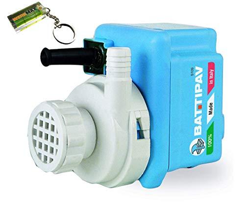 Pompa ad acqua, ORIGINAL BATTIPAV. S1_850 L/h, pompa immersione, per pietra e mattonelle semplicemente & diretaglia macchine & pietra separa eismaxx con acqua vasca da bagno.