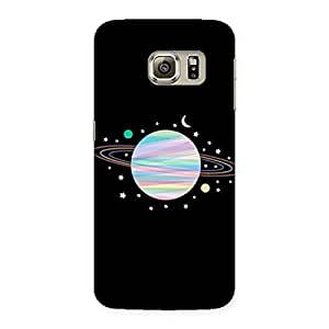 Neo World Colorful Earth Back Case Cover for Samsung Galaxy S6 Edge