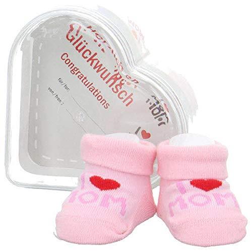 Camano 3038 Baby Gift Box Mom Socken 12 rose One Size (0-4 Monate)