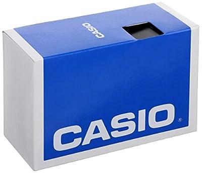 Casio STR-300-1C - Reloj (Reloj de pulsera, Polímero, Negro, Polímero, Negro, Alrededor)