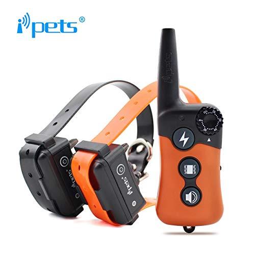 iPets Petrainer Pet619 Original, 300 Metros para 1 o 2 Perros a...