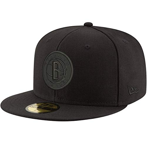 New Era 59Fifty Cap - NBA Black Brooklyn Nets - 7 5/8