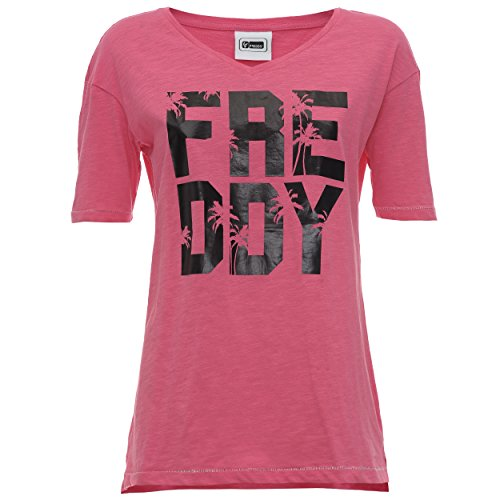 Fred Perry S7wcst1, T-Shirt Femme Rose