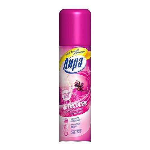 Lira Antistatik Spray für Kleidung und Textilien | Geruchs-neutral, schnelle Wirkung | Keine Flecken (1, 150ml)