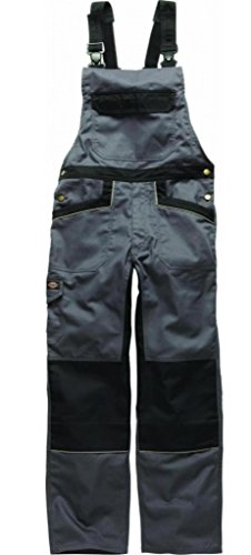 DICKIES IN4001 - PETO INDUSTRIA 260 GRIS / NEGRO GYB-54
