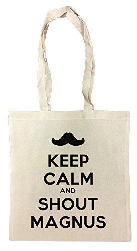 keep-calm-and-shout-magnus-borsa-della-spesa-riutilizzabile-cotton-shopping-bag-reusable