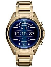 Armani Exchange Drexler Digital Gold Dial Men's Watch-AXT2001
