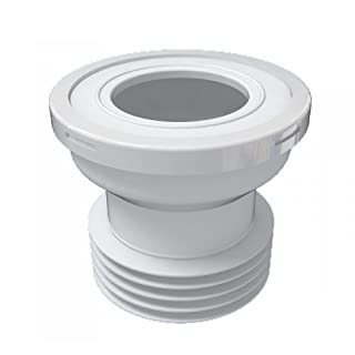 Bathroom Toilet WC Straight Extension Waste Cable Pipe Connection Water Outlet