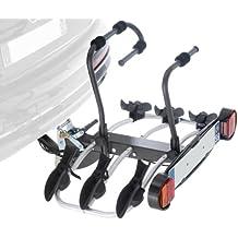 Mottez A018P3RA - Portabicicletas sobre enganche de remolque (3 bicicletas)