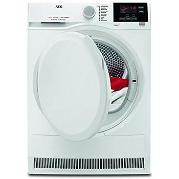 AEG T6DB60375 Waschetrockner Effizienter Kondensationstrockner Mit Mengenautomatik Und Knitterschutz 7 Kg Schontrommel XXL Turoffnung